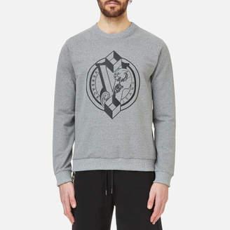 Versace Men's Chest Logo Sweatshirt
