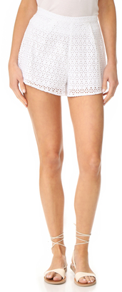 Line & Dot Gaby Shorts $66 thestylecure.com