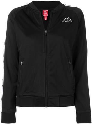 Kappa logo stripe sports jacket
