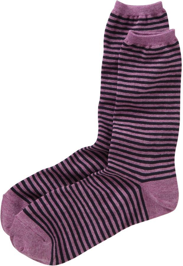 Old Navy Women's Striped Trouser Socks