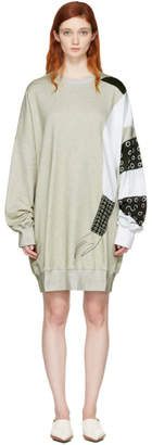 J.W.Anderson SSENSE Exclusive Grey Kelly Beeman Edition Oversized Graphic Sweatshirt