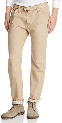 Eidos Khaki Five Pocket Slim Fit Chinos - 100% Exclusive $250 thestylecure.com