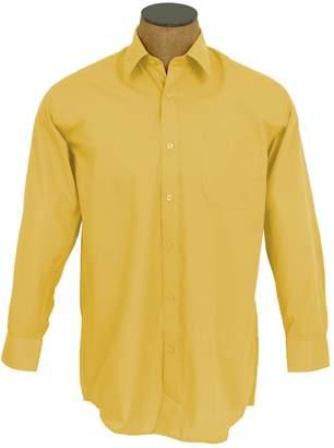 Blend of America Sunrise Outlet Men's Solid Color Cotton Dress Shirt - 17 34-35