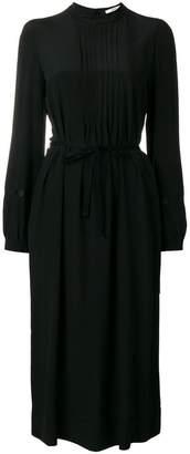 Odeeh ruffle detail long dress