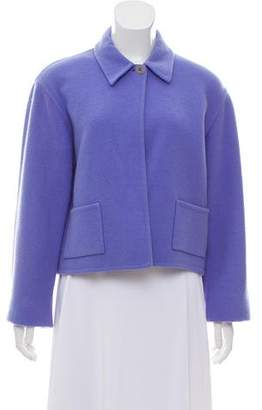 Ralph Lauren Purple Label Wool Crop Jacket