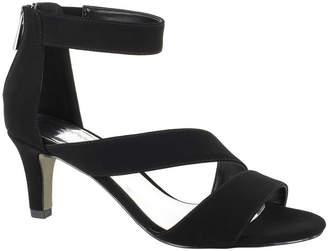 5fe0e21fa02 Easy Street Shoes Womens Maxi Pumps Zip Open Toe Spike Heel