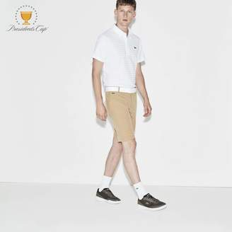 Lacoste Men's SPORT Presidents Cup Edition Stretch Bermuda Shorts