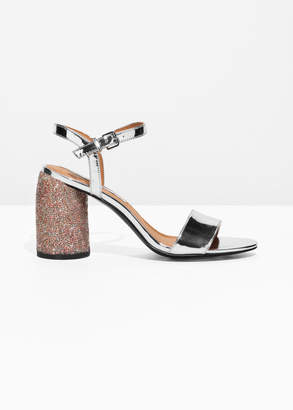 And other stories Rhinestone Heel Sandalette