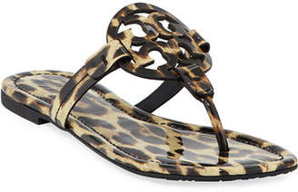 Tory Burch Miller Printed Flat Thong Sandals