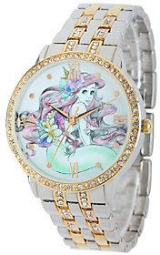 Disney Ariel Women's Glitz Bracelet Watch $49.99 thestylecure.com