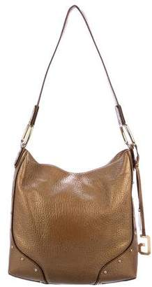 Dolce & Gabbana Studded Leather Hobo