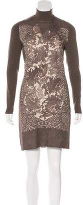 Akris Punto Printed Shift Dress