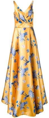 Sachin + Babi printed Rae gown