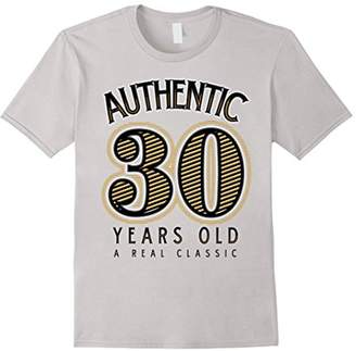Authentic 30 Years Old - 30th Birthday T-Shirt for Men