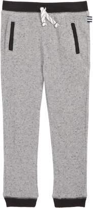 Splendid Waffle Knit Jogger Pants