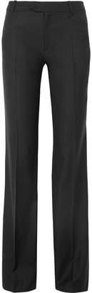 Joseph Rocker Super 100 Wool-twill Wide-leg Pants - Black