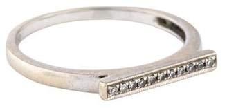 Sylvie Dana Rebecca Designs 14K Diamond Rose Bar Ring