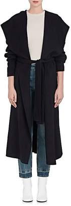 Robert Rodriguez Women's Brushed Wool-Blend Melton Wrap Coat
