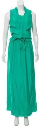 Fendi Silk Maxi Dress Silk Maxi Dress