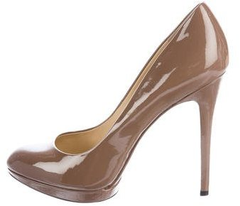 Brian Atwood B Brian Atwood Frederique Patent Leather Pumps