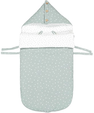 La Redoute COLLECTIONS Printed Cotton Mix Sleeping Bag with Hood