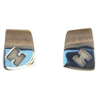 Hermes Silver earrings