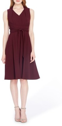 Women's Tahari Fit & Flare Dress $134 thestylecure.com