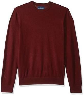 Buttoned Down Men's Italian Merino Wool Lightweight Cashwool Crewneck Sweater