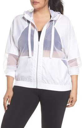 Zella Sheer Mix Jacket