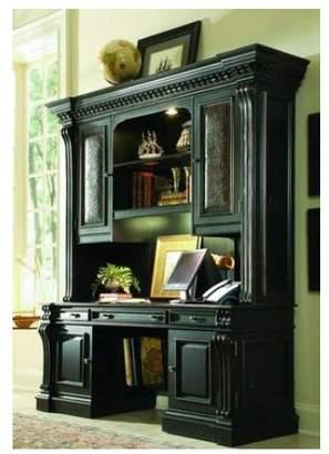 Hooker Furniture Telluride Credenza Desk with Hutch