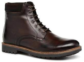 Base London Men's ELK Lace-up Ankle Boots in Brown