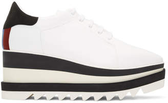 Stella McCartney White Elyse Platform Oxfords