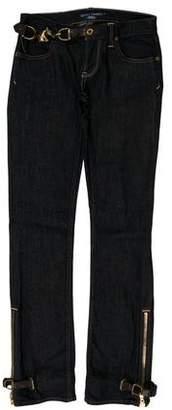 Ralph Lauren Low-Rise Jeans