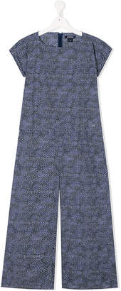 Woolrich Kids TEEN wide leg jumpsuit