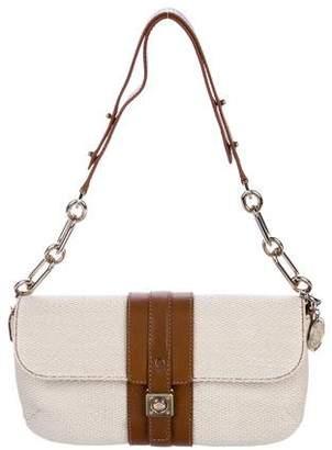 Lanvin Straw Flap Bag