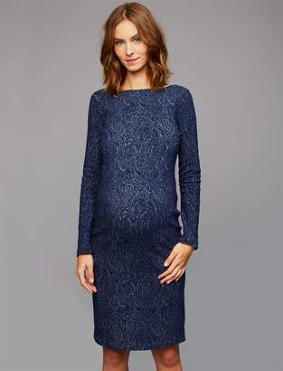 Soon Jacquard Maternity Dress