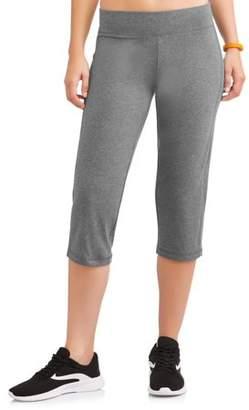 Danskin Women's Core Active Sleek Fit Crop Yoga Pant