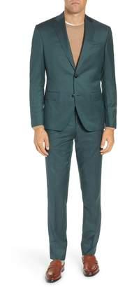 Ted Baker Roger Slim Fit Solid Wool Suit