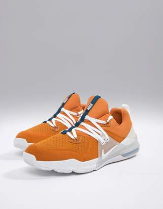 Nike Training Zoom command sneakers in orange aa3984-800
