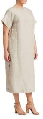 Lafayette 148 New York Lafayette 148 New York, Plus Size Emiline Striped Dress