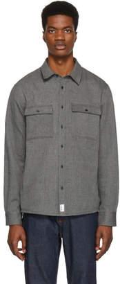 A.P.C. Black Enrico Overshirt