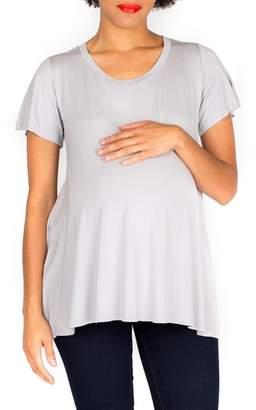 Nom Maternity 'Mimi' Stripe Maternity Tee