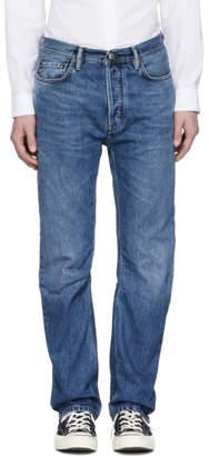Acne Studios Bla Konst Blue Land Jeans