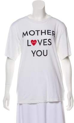 Mother Printed T-Shirt w/ Tags
