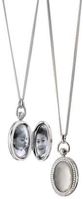 Monica Rich Kosann Mother-of-Pearl Locket Necklace
