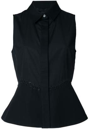 Alexander Wang sleeveless peplum shirt