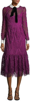 Temperley London Embroidered Shirtdress