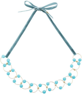 Rosantica Universo Blue Quartz Necklace