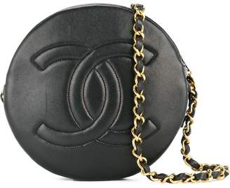 Chanel Pre-Owned CC logos single chain shoulder bag