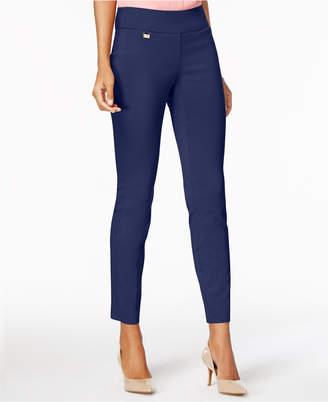 Alfani Petite Tummy-Control Pull-On Skinny Pants